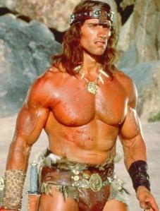 Conan, o bárbaro - Exemplo de macho a ser seguido.