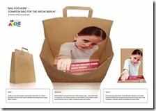 Midia - Sacolas promocionais (companha contra a fome)