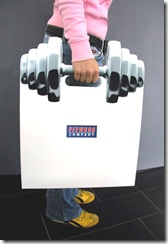 Midia - Sacolas promocionais (Fitness Company)