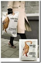 Midia - Sacolas promocionais (GAIA - Global Action Interest of Animals)