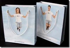 Midia - Sacolas promocionais (Meridian Spa Health - 2004)