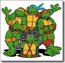 Anos 80 - Desenho animado As Tartarugas Ninja