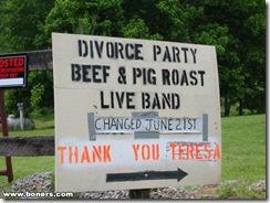 Divórcio - Festa Anúncio