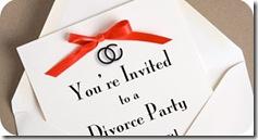 Divórcio - Festa Convite